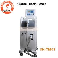 Quality Manufacture Supplier!!! 808nm diode laser hair removal machine for all skin types for sale
