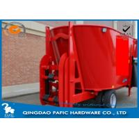 China Vertical Auger with Serrated Knives of Livestock Farm Used Feed Processing Wagon have Lifting Scoop wholesale