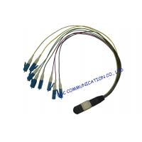 Wholesale Multi Core Duplex Optical Fiber Patch Cord , Passive / Active Optic Fiber Optic Cable from china suppliers