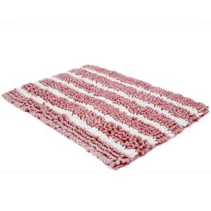 Wholesale Lightweight Washable Toilet Rug Chenille Fabric Comfortable Bath Mat from china suppliers
