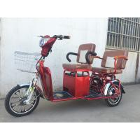 China Two Persons 3 Wheel Electric Tricycle Scooter 800W Brushless Steel Frame on sale