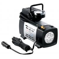 Quality 12V With light Black Metal Vehicle Air Compressor All Ride For Car Inflation Anti - Dust for sale