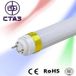 t8 double end cap led tube 10w 60cm 120deg 72smd2835 950lm CE ROHS