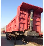 Wholesale 2 Axle / 3 Axle Hydraulic Cylinder Semi Trailer Dump Truck 30ton 60ton Volume 25cbm 40cbm from china suppliers