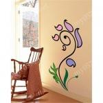 Wholesale DIY Art Mural Sticker/ Art Mural Deco/ wall sticker Lovely Flower(home, window, decorative sticker) from china suppliers