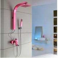 Wholesale Shower Sets Waterfalls Shower Valves Mixer Shower Valve Pink Color from china suppliers