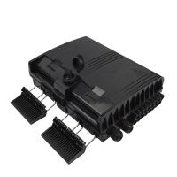 Buy cheap Plastic ODF Optical Distribution Box Odf Fiber Breakout Box Wall Mount Stype from wholesalers