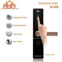 Wholesale CE FCC Contactless Biometric Fingerprint Door Lock With IC Card Read from china suppliers