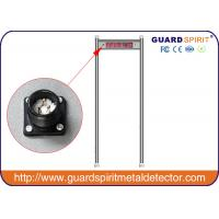 Wholesale High Sensitivity Multi Zone Metal Detector Door For Security , Sound Alarm from china suppliers