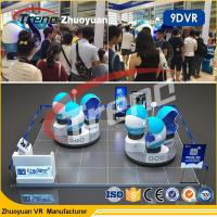 Amusement Park 9d Motion Ride / 9d Cinema Simulator With Virtual Reality 80pc Movies