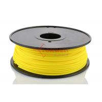 Wholesale Yellow 3mm Nylon 3D Printer Filament Reels For Solidoodle Afinia 1kg / Spool from china suppliers