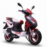 China 4-stroke, Gasoline-powered Motor Scooter with EEC, DOT and EPA approvals on sale