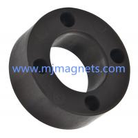 plastic Injection molded magnet in ring shape