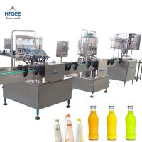 China Glass Bottle Carbonated Beverage Filling Machine 1000 Bph Filling Speed on sale