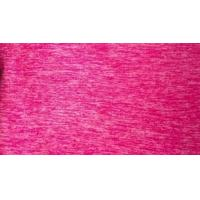 Wholesale OEM Plain Dyed Cationic Fabric For Jacket And Overcoat / Pink Jersey Knit Fabric from china suppliers