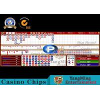 Wholesale SGS Baccarat Gambling Systems Casino Standard LCD table Limit Sign from china suppliers