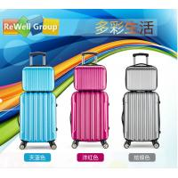 Wholesale Durable Pull Rod Box Travel Trolley Bags ABS Luggage With Zipper SGS from china suppliers