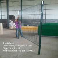 Wholesale Triangle welded mesh fence, curvy welded mesh fence, welded wire mesh fence from china suppliers