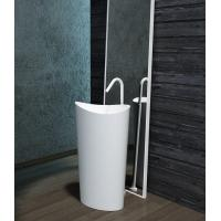 Wholesale Unique Shape Freestanding Bathroom Basin Stand Alone Vanity Unit from china suppliers