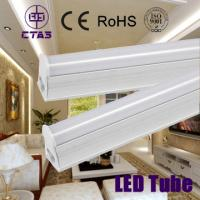 t8 integrated led tube 10w 60cm 120deg 60smd2835 800lm CE ROHS