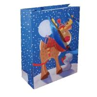 Wholesale Recyclable, durable 200gsm art paper matte lamination Personalized Christmas Gift Bags from china suppliers