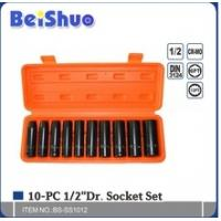 "Wholesale 10pcs 3/4"" socket set from china suppliers"