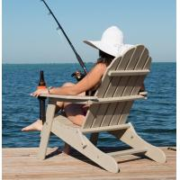 Buy cheap plastic adirondack folding anglers chair from wholesalers