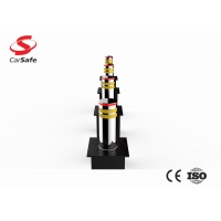 Wholesale 600mm Height SUS3040 Hydraulic Rising Bollard 16mm Rod from china suppliers