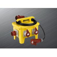 Heavy Duty Temporary Power Distribution Box IP67 Waterproof Protection