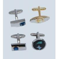 Wholesale silver bulk customized cufflinks for wedding from china suppliers