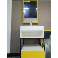 Wholesale Stainless Steel Bathroom Sink Cabinets With Stone Sink  Easy To Install from china suppliers