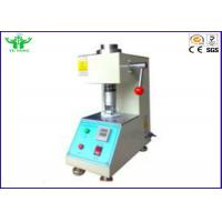 Wholesale AC 220V 3A Footwear Testing Equipment / Leather Friction Testing Machine 150±5 RPM from china suppliers