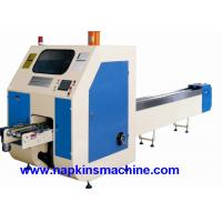 China High Precision Toilet Paper Roll Log Cutting Machine , PLC Program Control wholesale