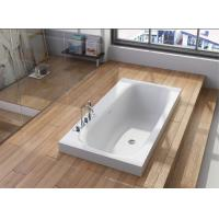 Wholesale Solid Surface  Embedded Bathtub Non Porous Stain Resistant from china suppliers