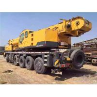 QY100K 100 Ton Lifting Wheel Used XCMG Crane For Sale , Hydrauli