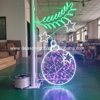 Wholesale christmas street pole motif from china suppliers