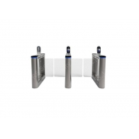 Wholesale 2.0 mm Thicness Intelligent Security Swing Barrier Gate Access Turnstiles from china suppliers