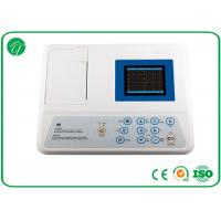 China CE Approved Automatic Portable ECG Machine 3 Channel With Rhythm Lead wholesale