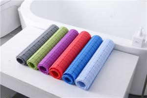 Wholesale Colorful 100*40cm Runner Bath Mat Premium PVC Non Slip Bathtub Mat from china suppliers