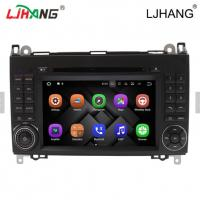 Quality 1024*600 Map Solution Mercedes Benz DVD Player 240 Dpi With Media Card for sale