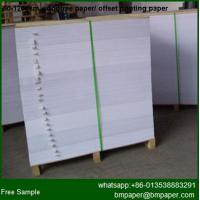 China Woodfree Offset Color Printing Paper on sale