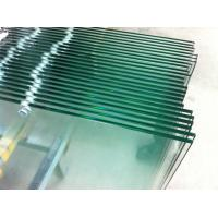China Low iron glass / Tempered Safety Glass 6mm with holes predrilled Toughened Glass Panels wholesale