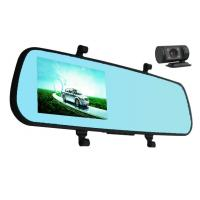 Wholesale 1080p 5MP COMS Len Manual Rear View Mirror Camera Recorder Motion Detection G - Sensor from china suppliers