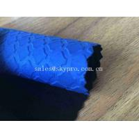 Wholesale Heat Resistant Blue Commercial Neoprene Fabric Roll 3mm Stability SBR Neoprene Polyester Jersey Fabric from china suppliers
