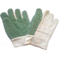 Wholesale Knit Cuff Gardening Heat Resistant Gloves Natural White Absorbing Sweat from china suppliers