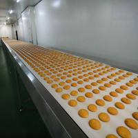 Wholesale Biscuit Production Line Flat Belt Conveyor 0.4kW - 22kW Power High Efficiency from china suppliers