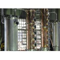 Wholesale 500gal Distillery brandy gin vodka alcohol copper still equipment for sale from china suppliers