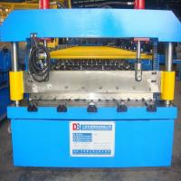 Wholesale Approx9m*1.8m*1.5m Steel Tile Corrugated Roll Forming Machine with Colored Steel Plate from china suppliers