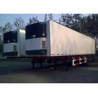 Wholesale 45 Foot Refrigerated Truck Trailer , Freezer Box Trailer With Three Axles from china suppliers