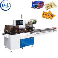 China Pillow Type Automatic Food Packing Machine 1.6 Kw For Ice Cream Packing on sale